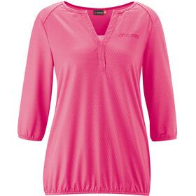 Maier Sports Doora 3/4 Blouse Dames, pink allover